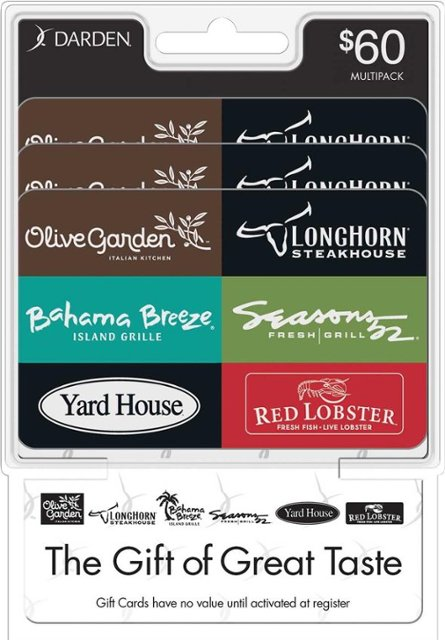 darden restaurants gift card balance photo - 1