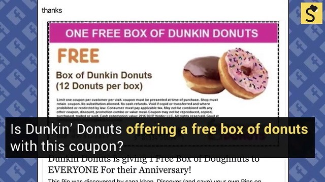 dunkin donuts gift card balance check photo - 1