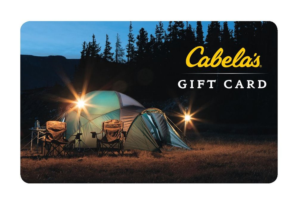 ebay cabelas gift card photo - 1