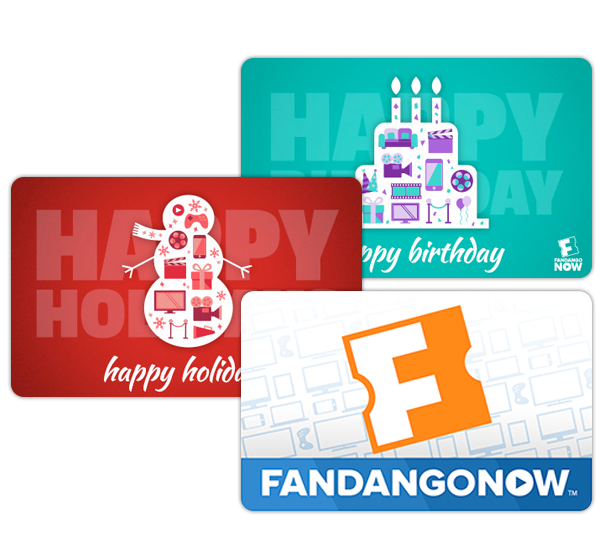 fandangonow gift card photo - 1