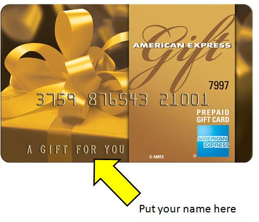 gift credit card photo - 1