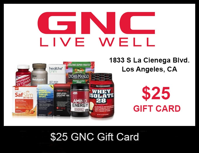 gnc gift card balance photo - 1