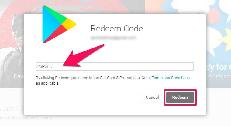 google play gift card balance photo - 1
