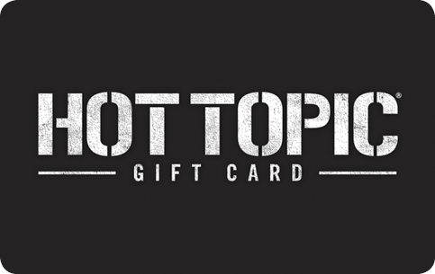 hot topic gift card balance photo - 1