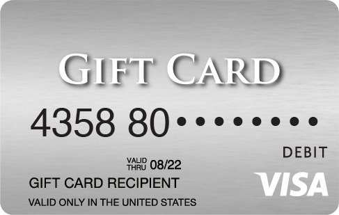 how to check amount on visa gift card photo - 1