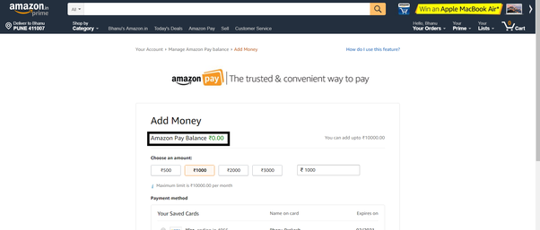how to check gift card balance amazon photo - 1