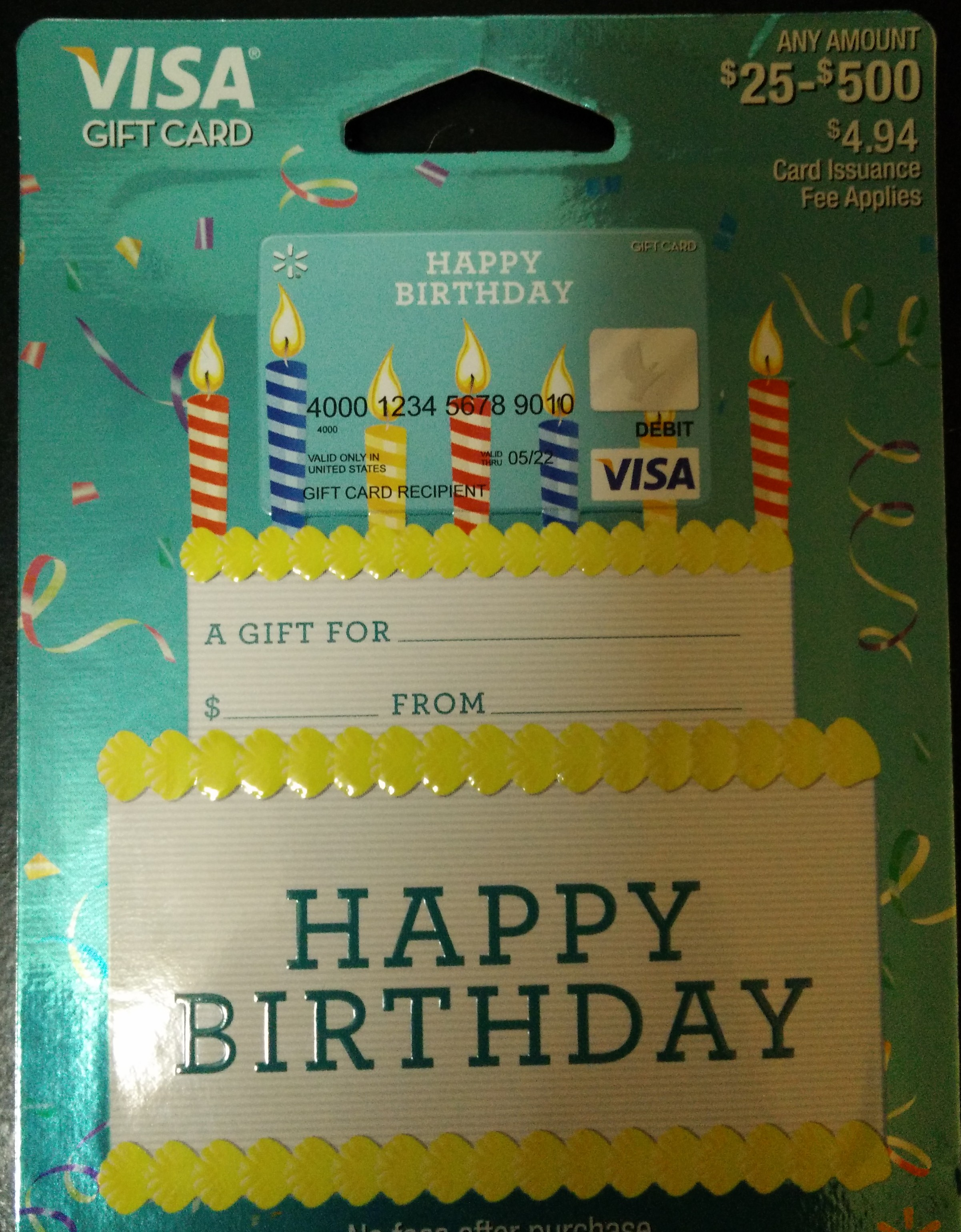 how to check money on Visa gift card photo - 1