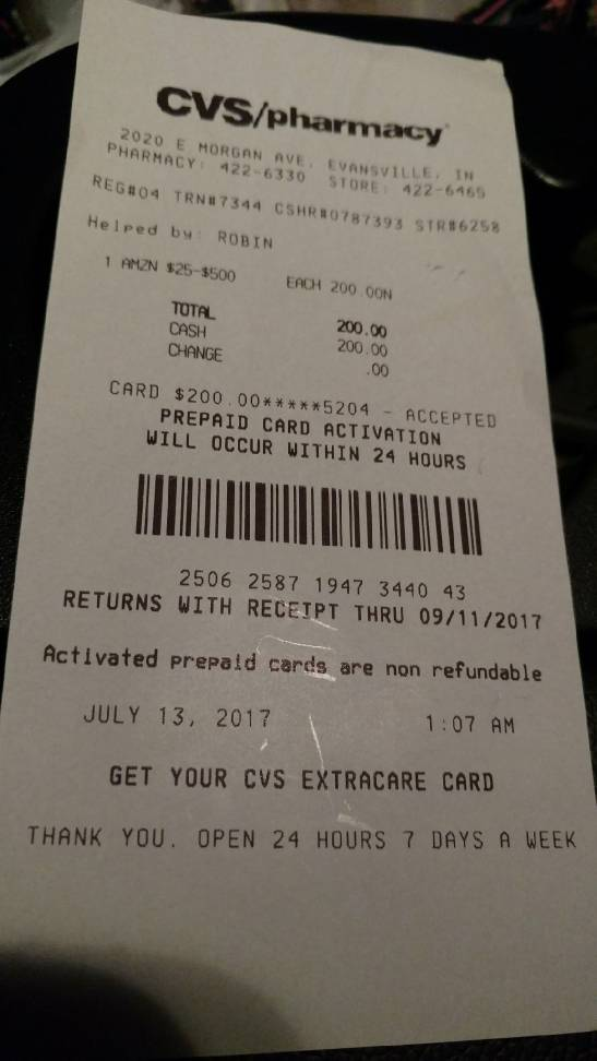 how to redeem gift card photo - 1