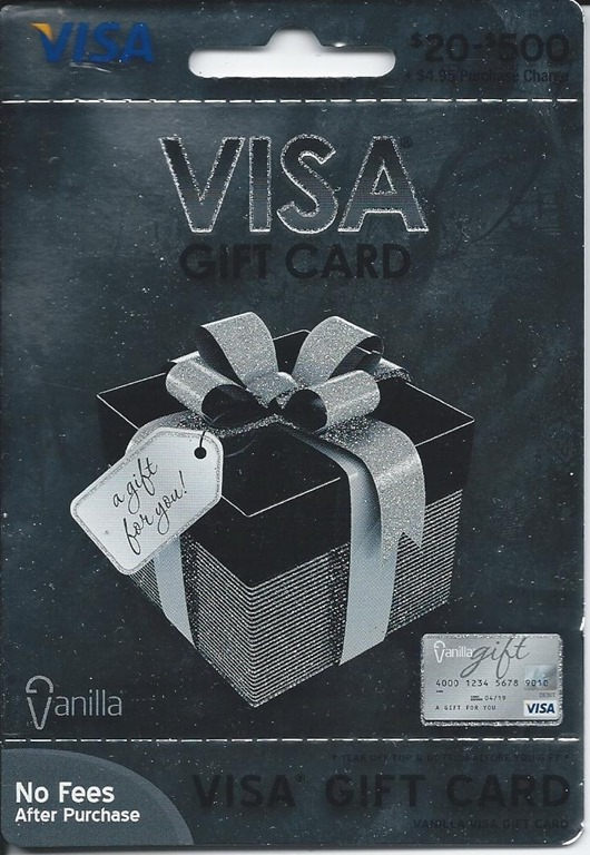 how to use a vanilla visa gift card photo - 1