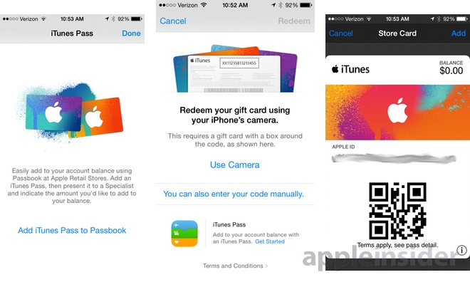 iTunes gift card balance checker photo - 1