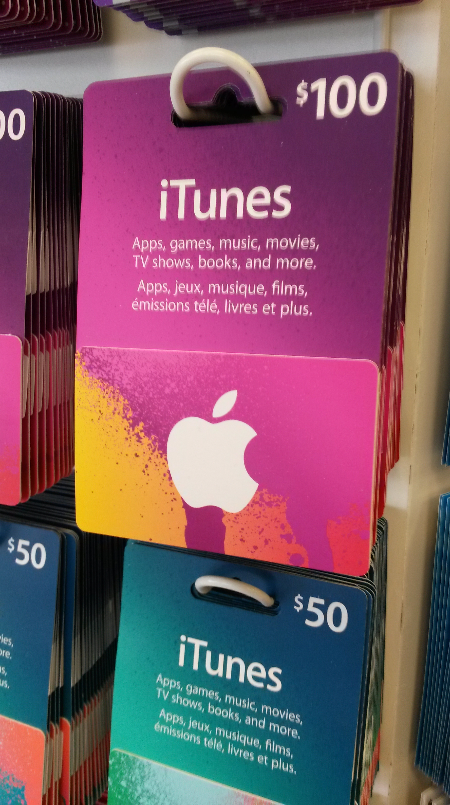 iTunes gift card fraud photo - 1