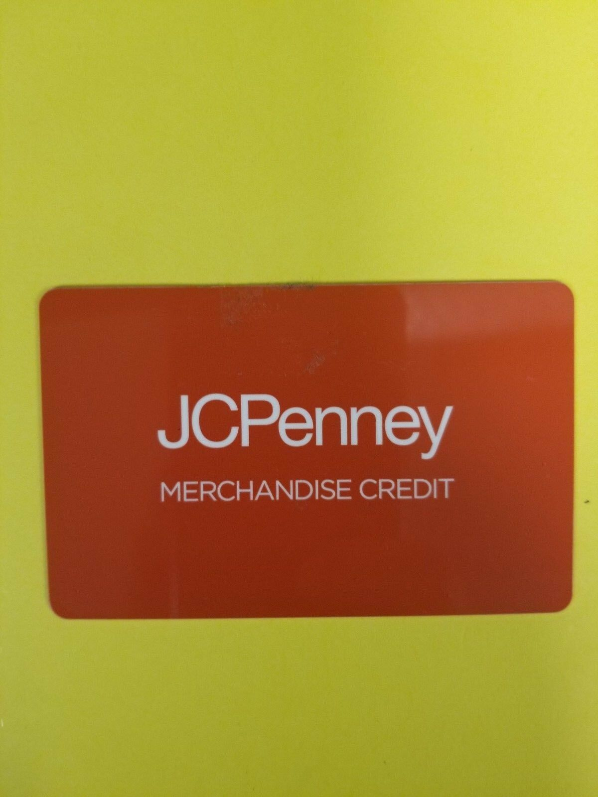 jc penny gift card balance photo - 1