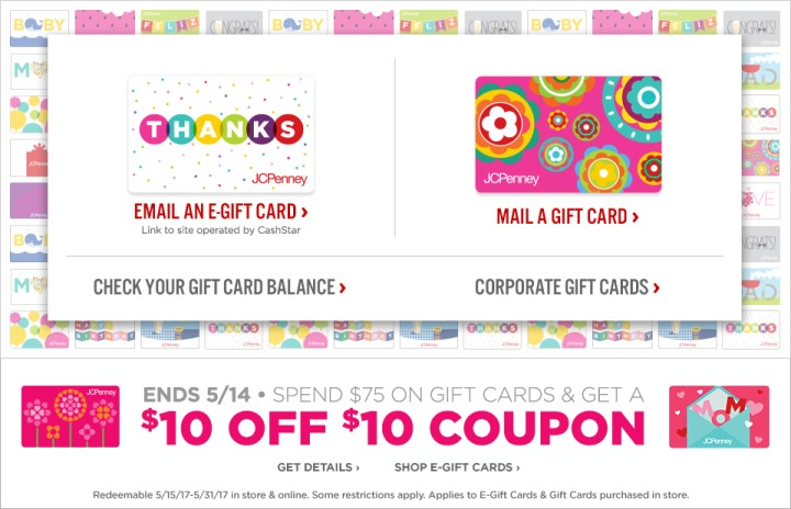 jcp gift card balance photo - 1