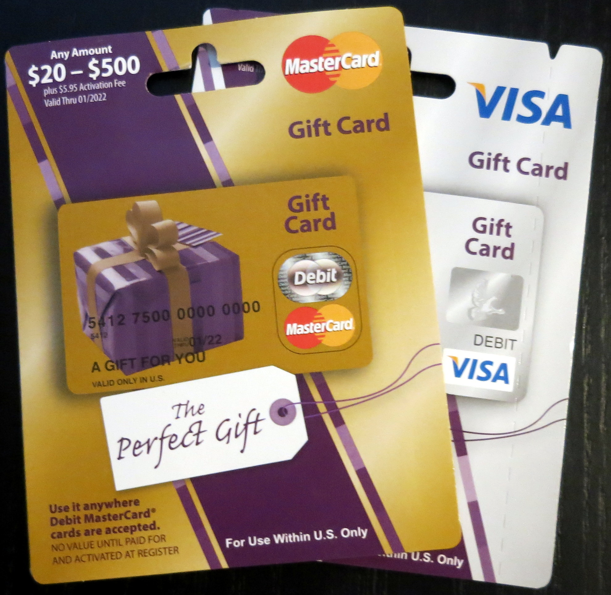 liquidate visa gift card photo - 1