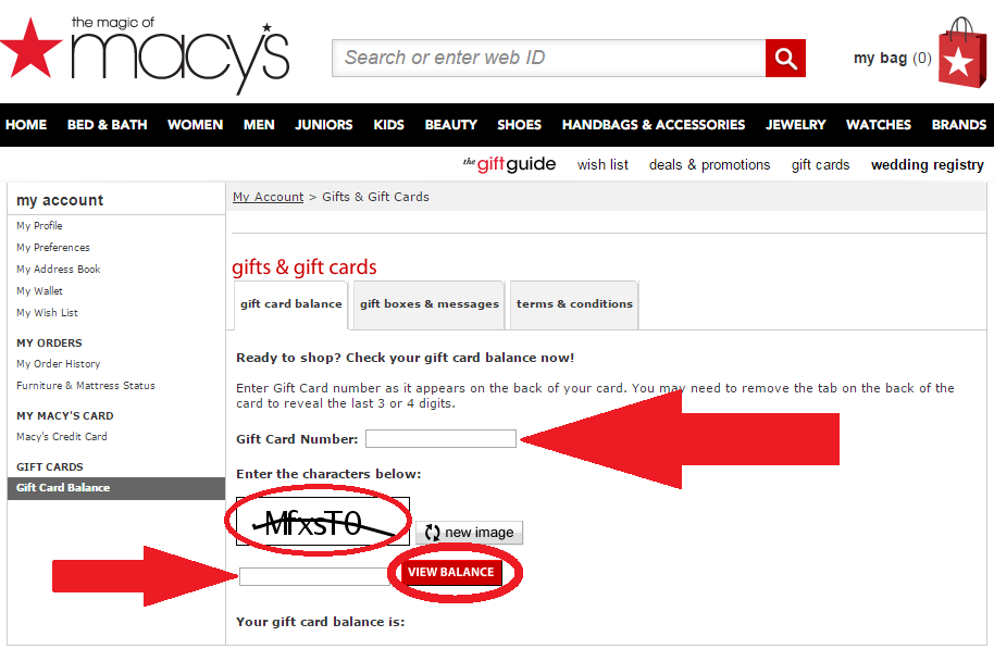 macys check gift card balance photo - 1