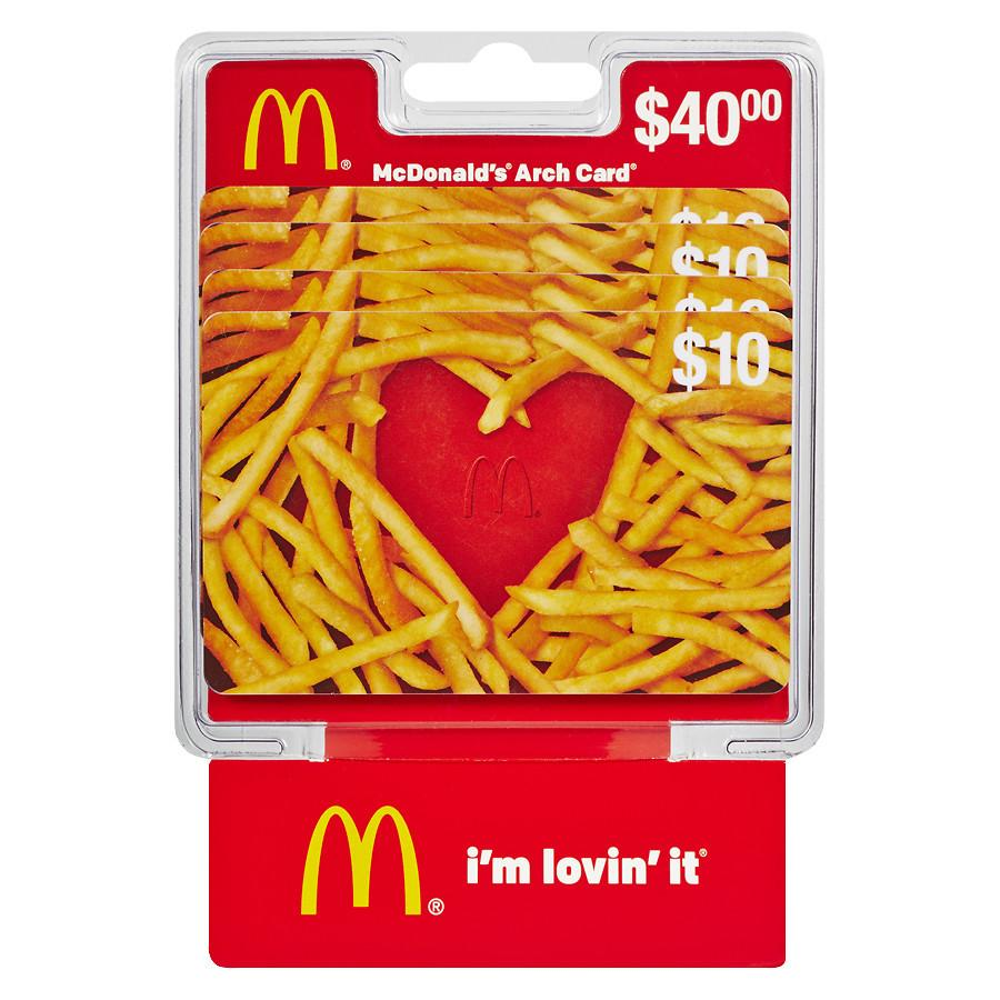 mcdonald gift card balance photo - 1