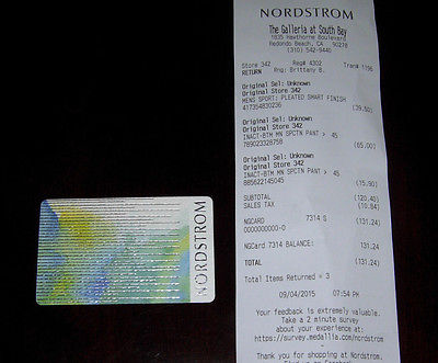 nordstrom gift card check balance photo - 1