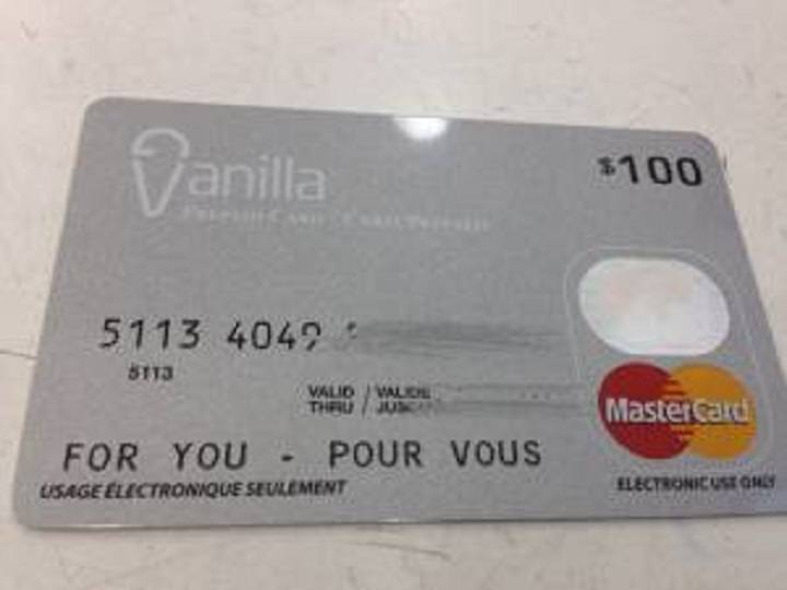 one vanilla Mastercard gift card balance photo - 1