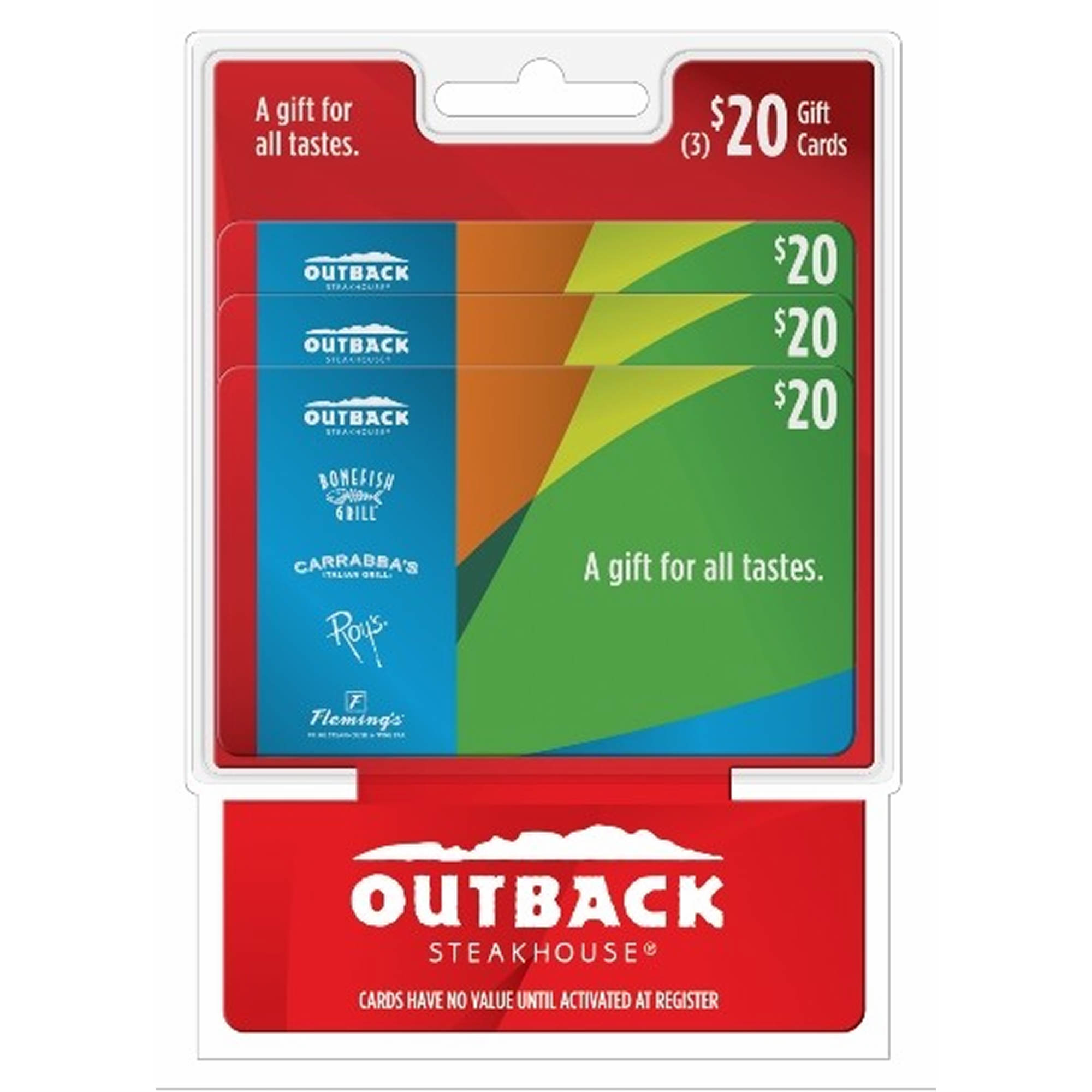 outback gift card balance photo - 1
