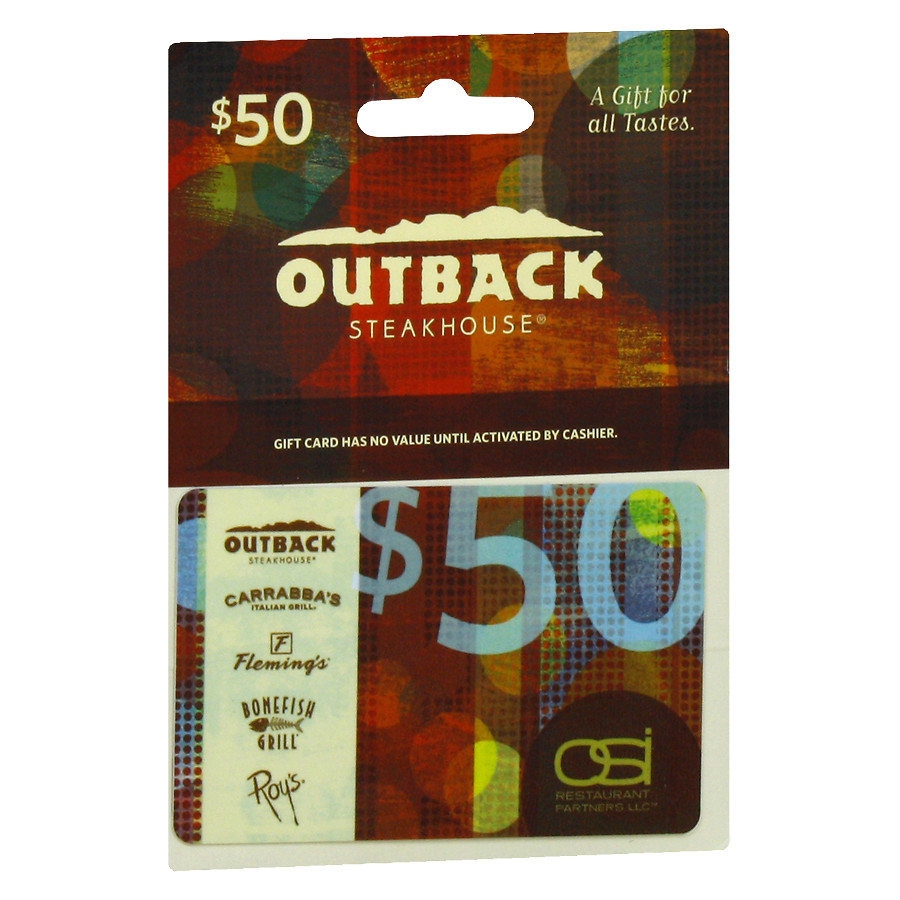 outback gift card balance online photo - 1