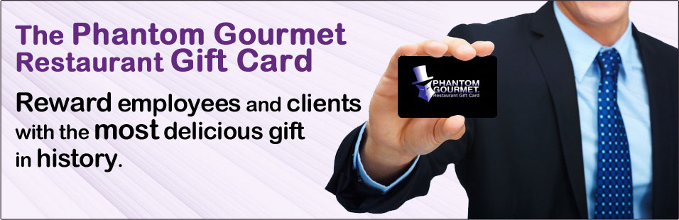 phantom gourmet gift card restaurants photo - 1