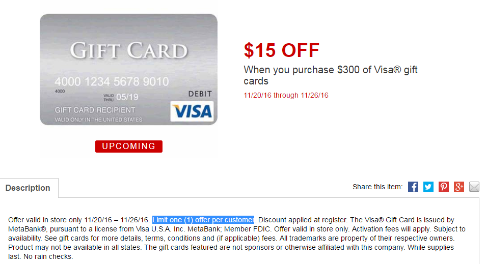 purchase a visa gift card photo - 1