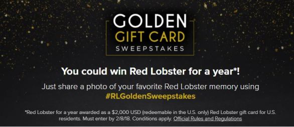 red lobster gift card balance photo - 1