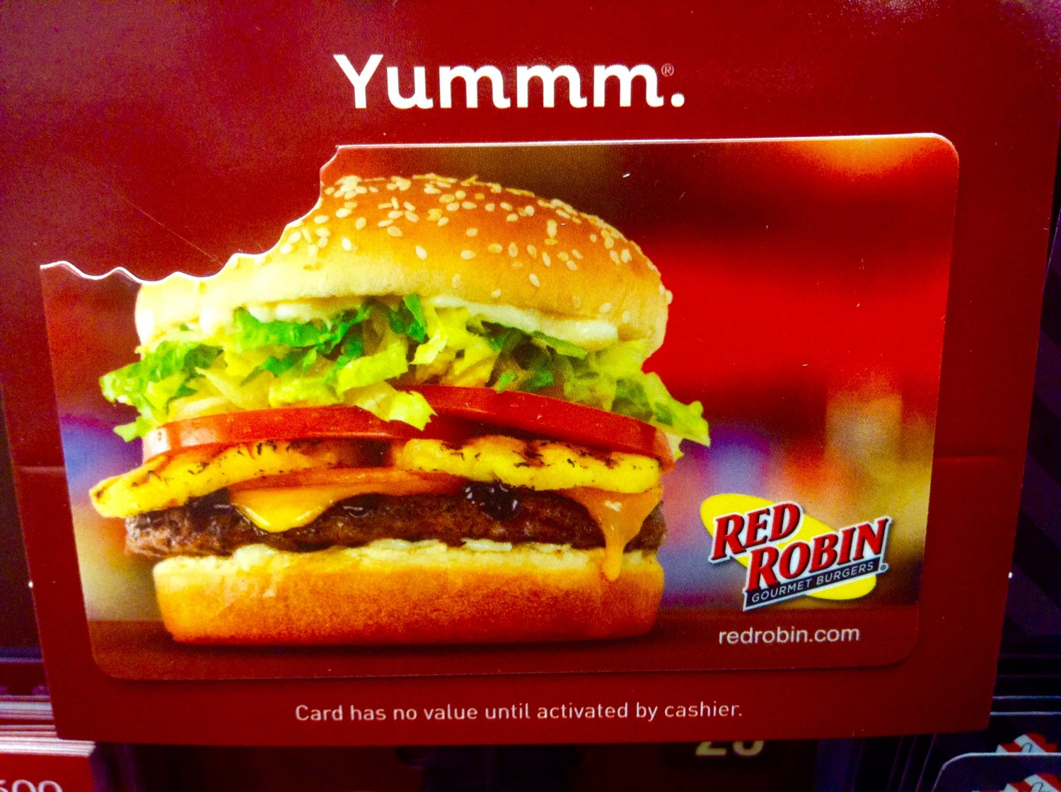 red robin gift card balance photo - 1