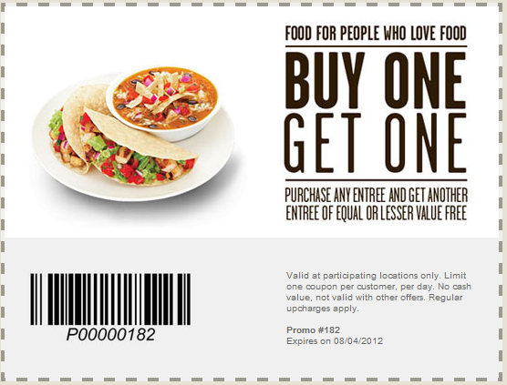 restaurant gift card promotion photo - 1