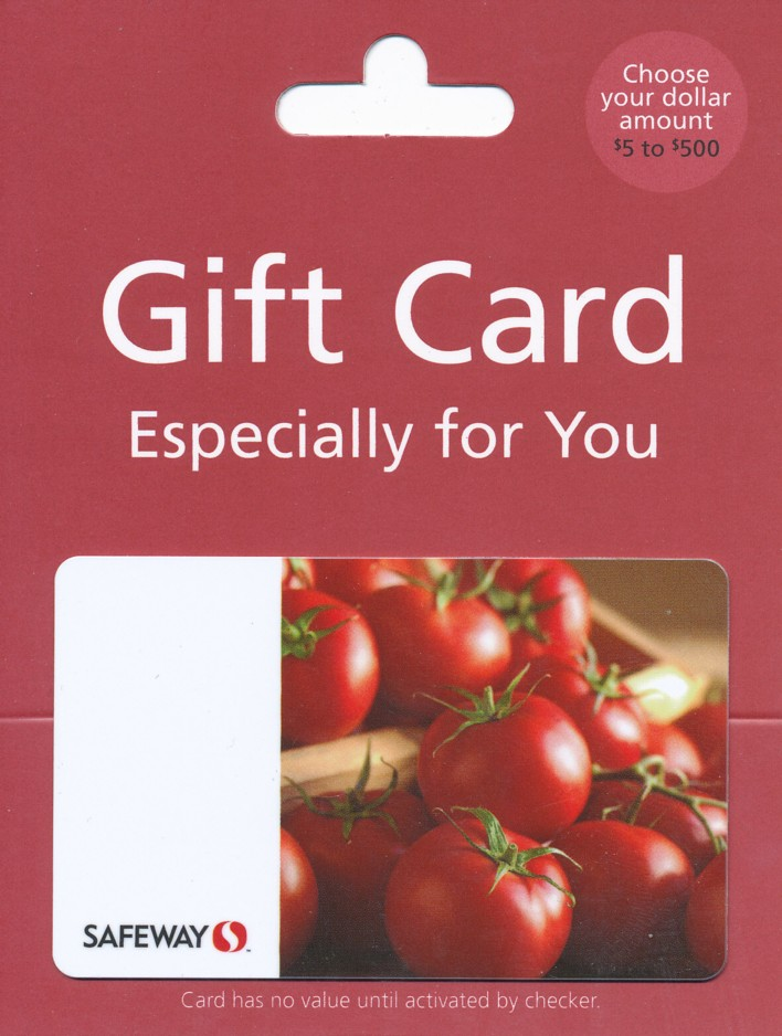 safeway gift card balance photo - 1