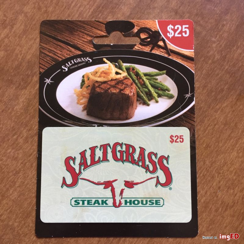 saltgrass steakhouse gift card photo - 1