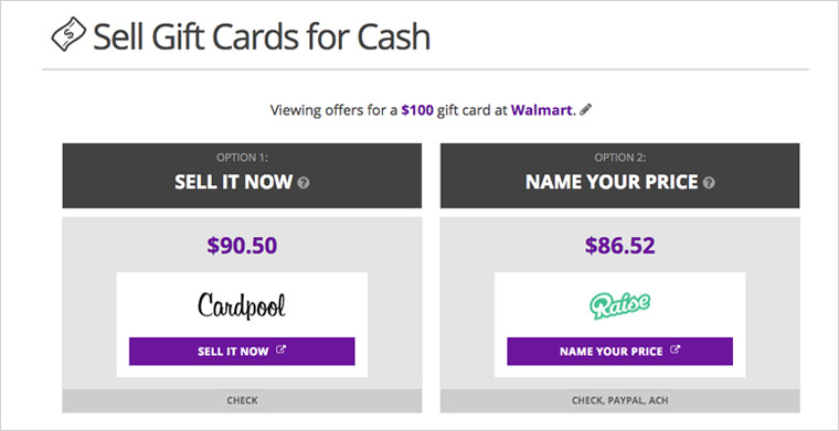 sell my gift card for cash now photo - 1