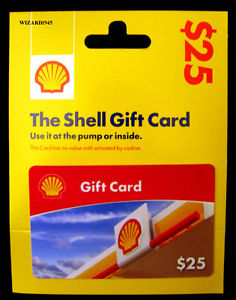 shell refillable gift card photo - 1