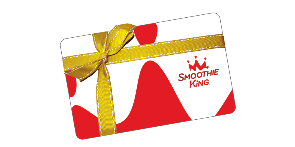 smoothie king gift card balance photo - 1