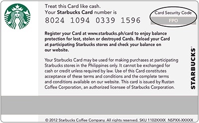 starbucks gift card balance online photo - 1