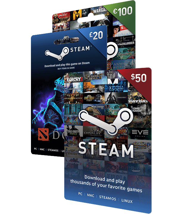 steam gift card amounts photo - 1
