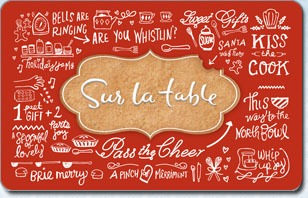 sur la table gift card balance photo - 1
