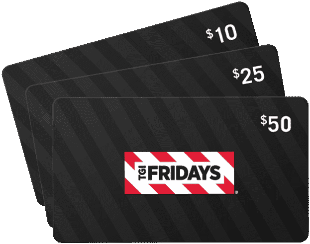 tgi Fridays gift card balance check photo - 1