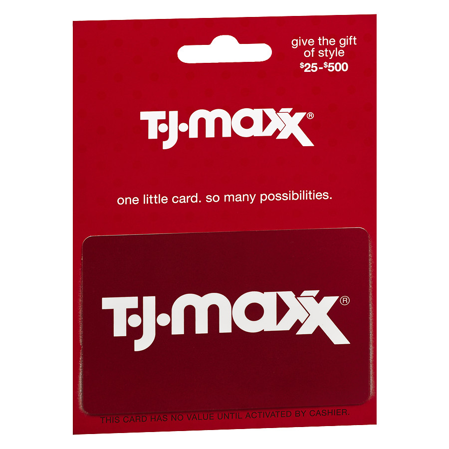 tj maxx gift card check balance photo - 1