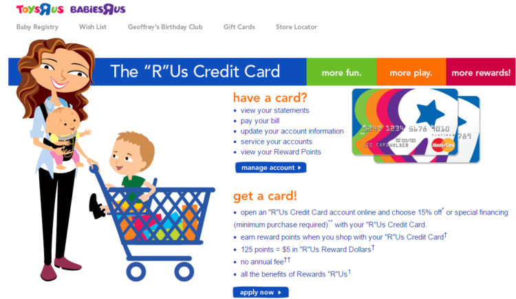 toys r us gift card balance photo - 1