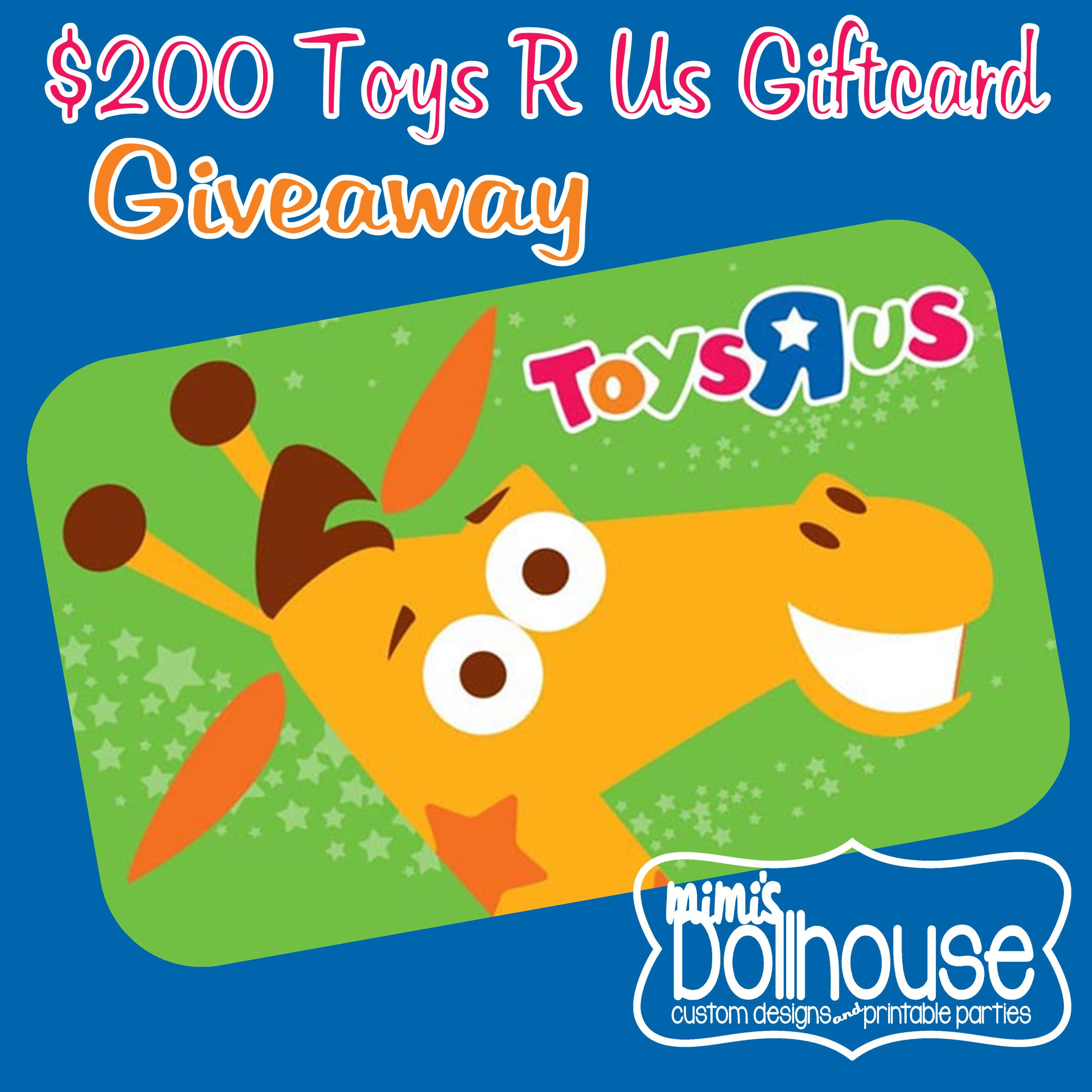 toysrus gift card balance photo - 1