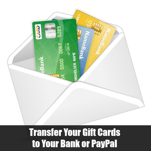 transfer gift card to bank photo - 1