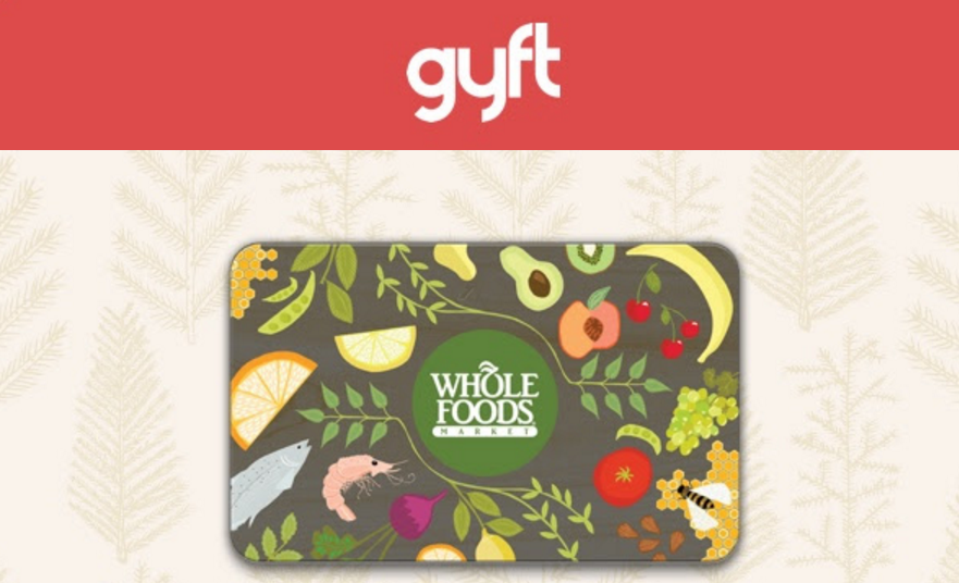 whole food gift card discount photo - 1