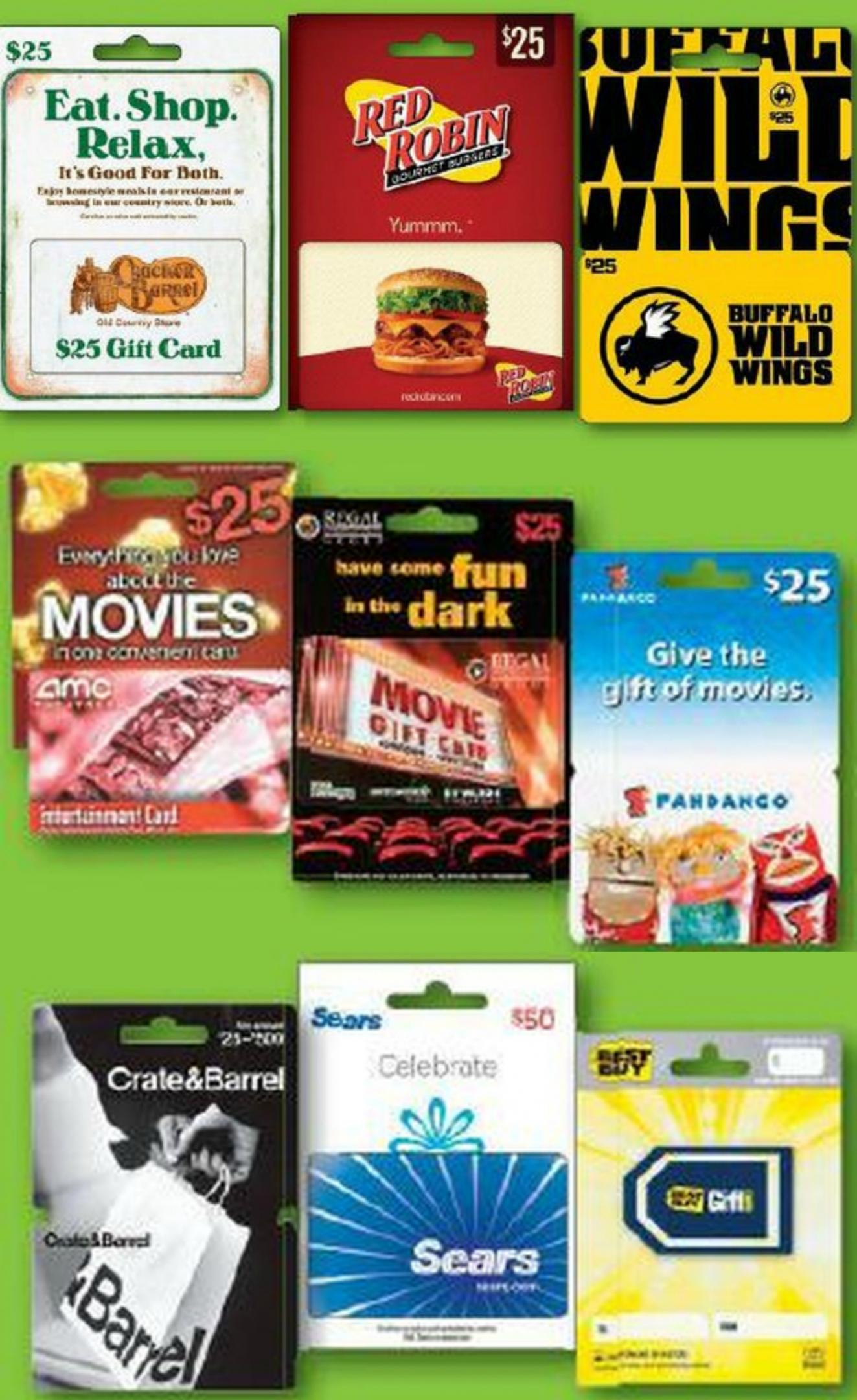can you buy gift cards with target red card 1
