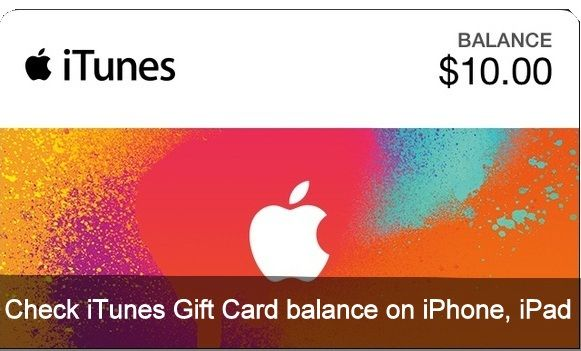 check itunes gift card balance without redeeming 1