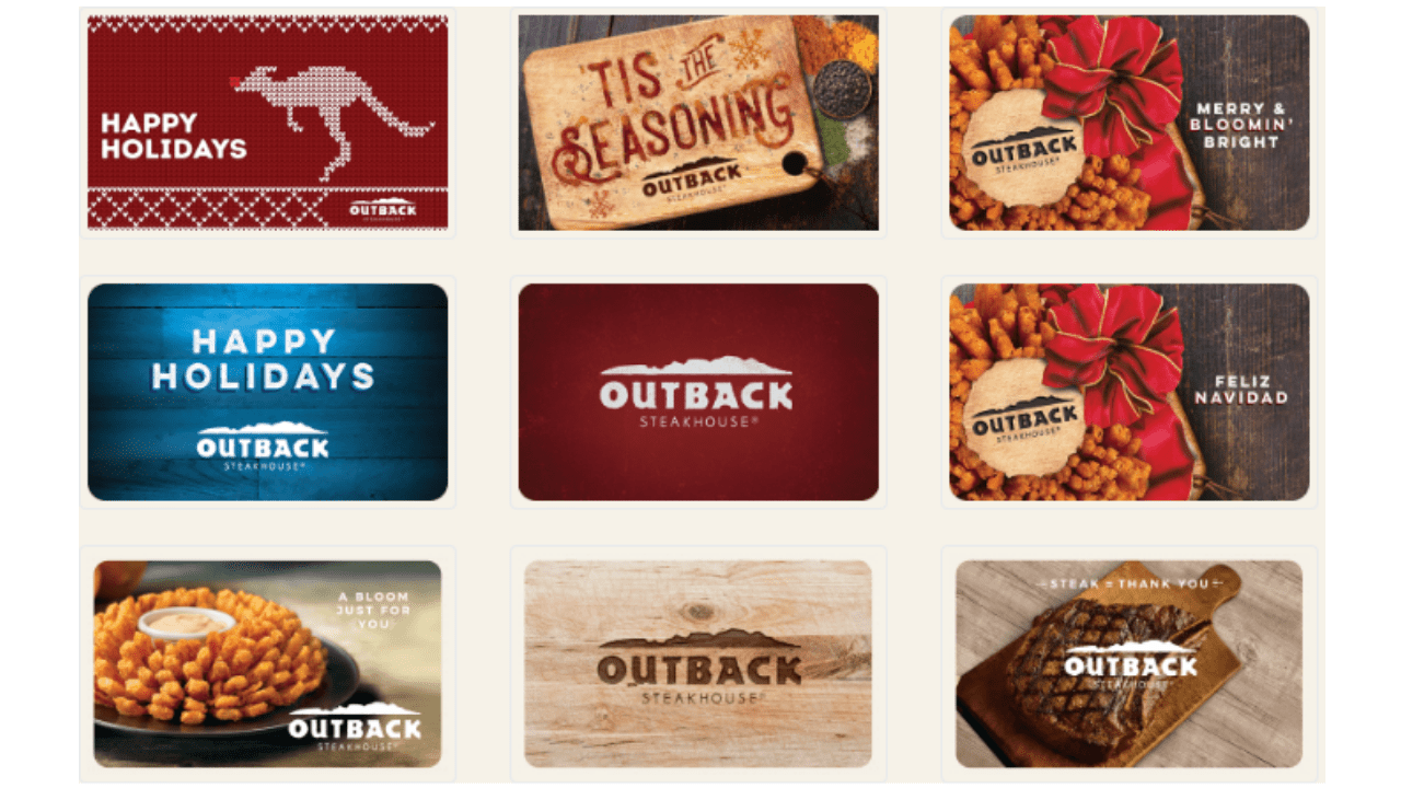 outback gift card deal photo - 1