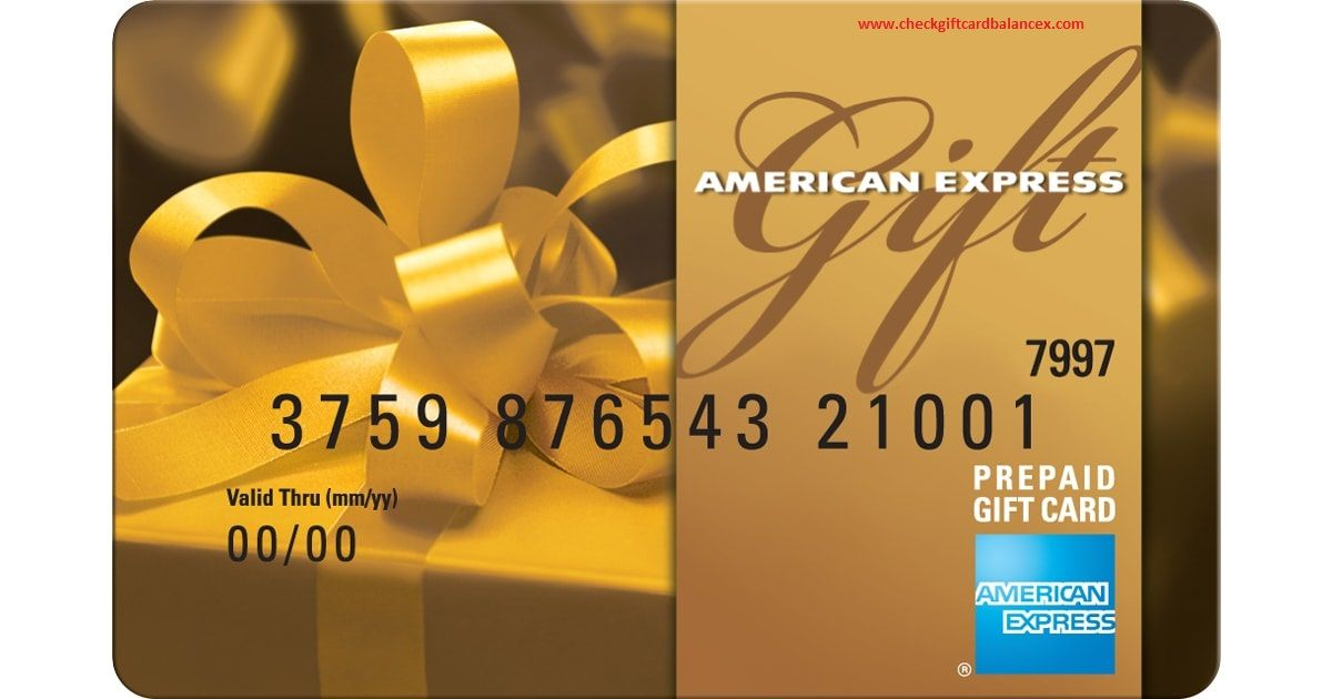 american express gift card check balance photo - 1
