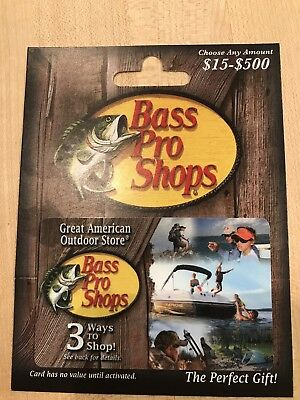 bass pro shops gift card value photo - 1