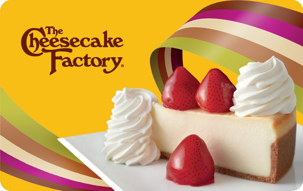 cheesecake factory gift card balance photo - 1