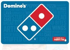 dominos gift card number and pin photo - 1